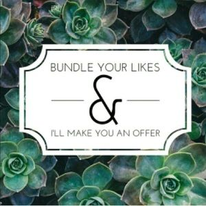 Other - Would love to make you a Special Bundle Offer 🌿